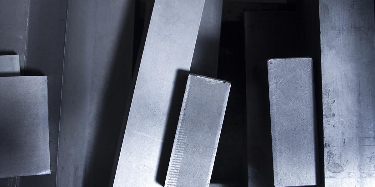 acciaio per la produzione di stampi